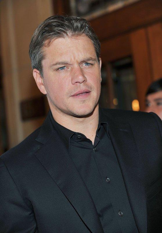 Actor Matt Damon arrives for the Toronto International Film Festival premiere of 'Hereafter' at The Elgin Theater in Toronto, Canada on September 12, 2010. UPI/Christine Chew