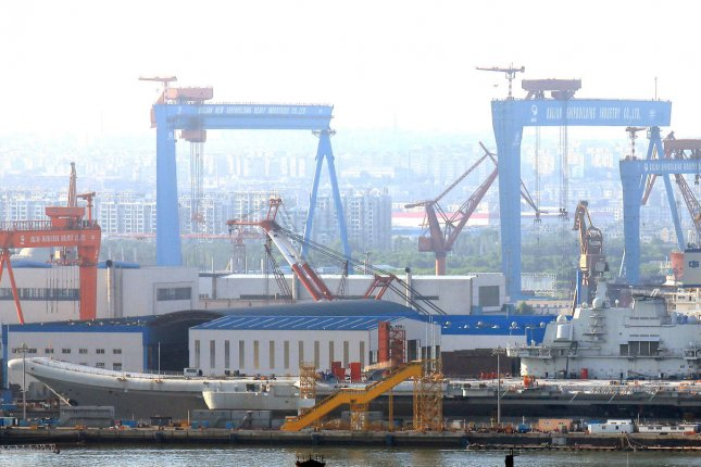 The Chinese port city of Dalian was the site of a private meeting between Japanese and North Korean officials, according to the Asahi Shimbun. File Photo by Stephen Shaver/UPI
