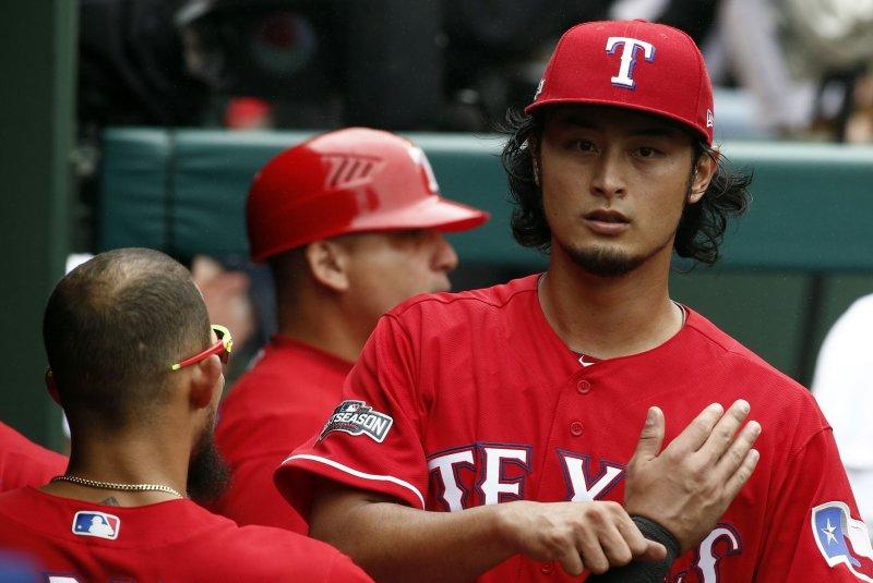Yu Darvish, Texas Rangers Opening Day starting pitcher