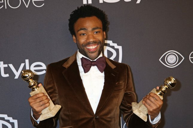 Donald Glover attends the 18th annual InStyle and Warner Bros. Golden Globe after-party on January 8. Glover said that he retiring from music as Childish Gambino following the release of a fourth album. File Photo by David Silpa/UPI