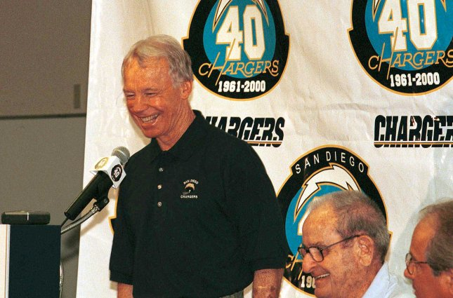 Former NFL general manager Bobby Beathard is among the finalists for induction into the Pro Football Hall of Fame. Beathard's teams made seven trips to the Super Bowl, winning a combined four championships. Photo by Robb Hughes/UPI.