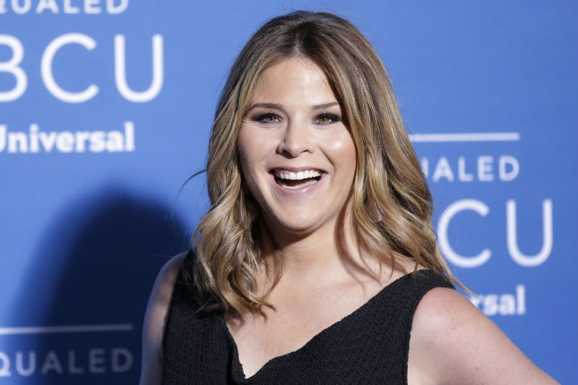 Jenna Bush Hager will join Hoda Kotb as co-host of the Today fourth hour following Kathie Lee Gifford's departure in April. File Photo by John Angelillo/UPI