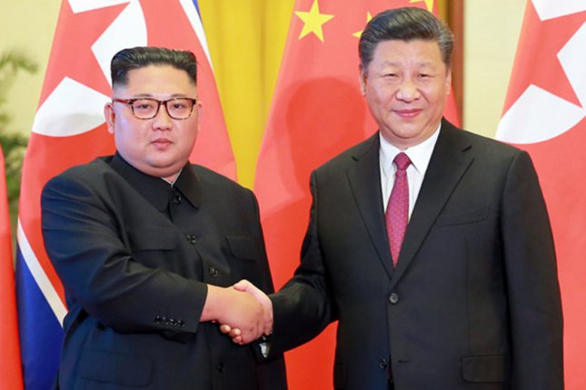 China has committed flagrant violations of United Nations sanctions against North Korea, a U.S. State Department official said Tuesday. File Photo by KCNA/UPI