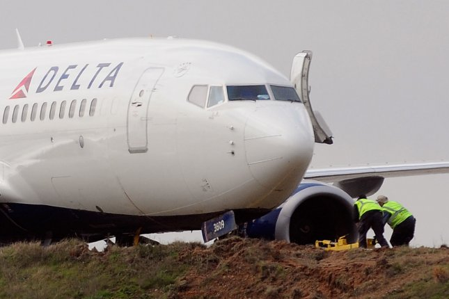 Delta Airlines said the Utah Jazz's charter plane was able to land without incident after striking a flock of birds. The Jazz were traveling to play the Memphis Grizzlies. File Photo by David Tulis/UPI