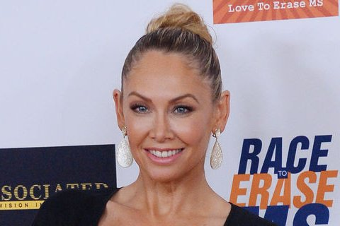 Kym Johnson and Robert Herjavec were spotted kissing over the weekend. File photo by Jim Ruymen/UPI