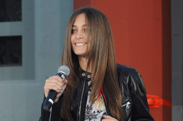 Paris Jackson introduces Justin Bieber at Michael Jackson's posthumous TCL Chinese Theater hand and footprint ceremony on January 26, 2012. File Photo by Jim Ruymen/UPI