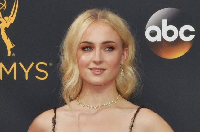Actress Sophie Turner arrives for the 68th annual Primetime Emmy Awards on September 18. File Photo by Christine Chew/UPI