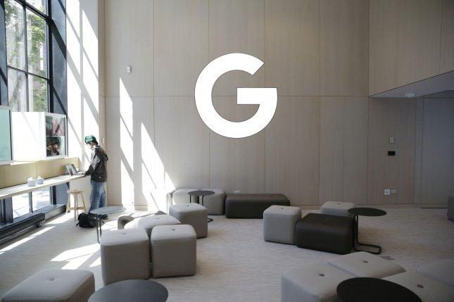A view of Google's first retail store in New York City on June 17. Google said Tuesday it's disappointed with the French regulator's decision. Photo by John Angelillo/UPI