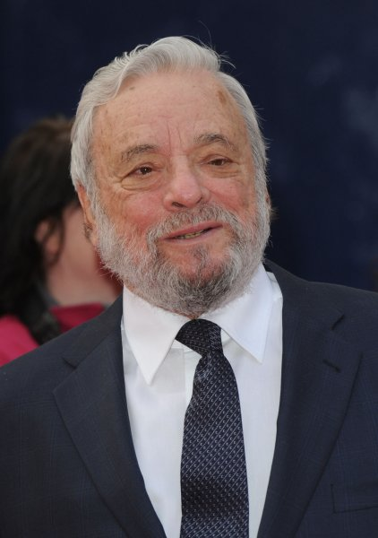 American composer Stephen Sondheim attends The Olivier Awards at Theatre Royal in London on March 13, 2011. UPI/Rune Hellestad