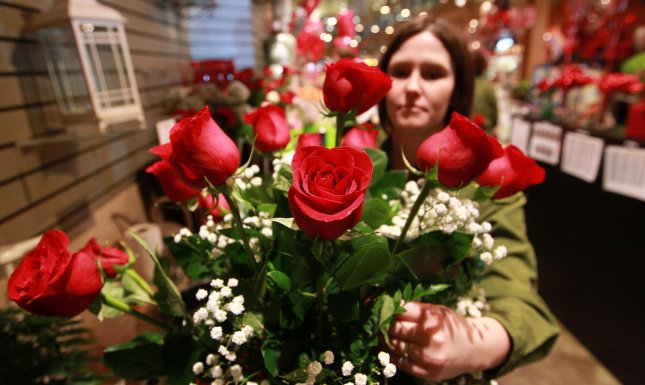 A bouquet of roses, though not the particular roses involved in the suit. UPI/Bill Greenblatt