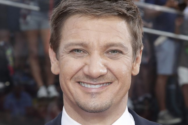Jeremy Renner arrives at the premiere of Mission: Impossible -- Rogue Nation in New York City on July 27, 2015. File Photo by John Angelillo/UPI