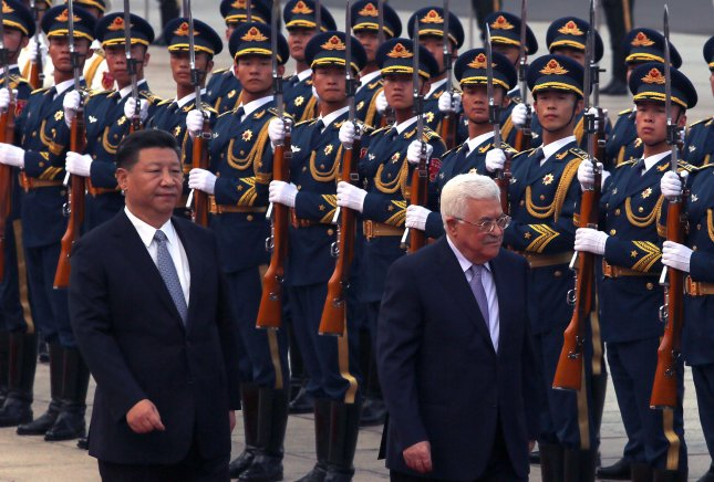 Chinese president says his country supports Palestinian cause