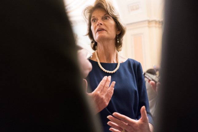 Sen. Lisa Murkowski, R-Alaska, has called on the president to recognize it's not just farmers that are impacted by his trade policies -- including economic sectors like energy. File Photo by Erin Schaff/UPI