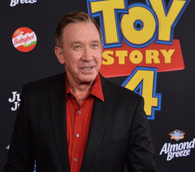 Actor Tim Allen will be an Emmy presenter on Sunday. File Photo by Jim Ruymen/UPI