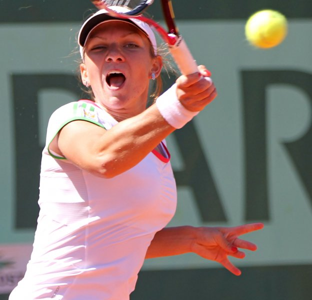 Simona Halep, shown in a 2011 file photo, improved to 2-0 in round-robin with a straight-set win Wednesday at the WTA's Tournament of Champions in Bulgaria. UPI/David Silpa