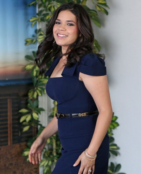 America Ferrera arrives at a photocall for the film The Dry Land during the 36th American Film Festival of Deauville in Deauville, France on September 7, 2010. UPI/David Silpa