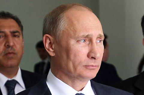 Russian President Vladimir Putin, pictured in 2012. (UPI/Abed Hashlamoni/Pool)