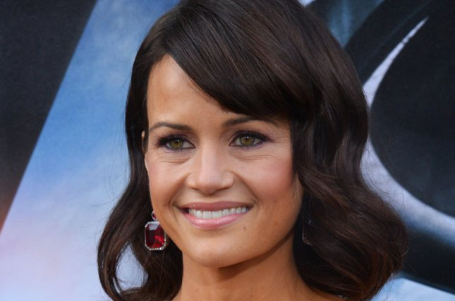 Roadies co-star Carla Gugino attends the premiere of the motion-picture thriller San Andreas in Los Angeles on May 26, 2015. File Photo by Jim Ruymen/UPI