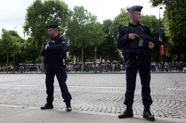French President Emmanuel Macron on Tuesday announced an end to the nation's state of emergency that was imposed in 2015 as a response to coordinated terror attacks that killed 130. File Photo by Maya Vidon-White/UPI