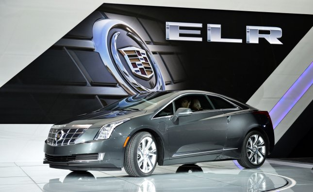 Cadillac introduces the 2014 ELR at the 2013 North American International Auto Show in Detroit on January 15, 2013. UPI/Brian Kersey