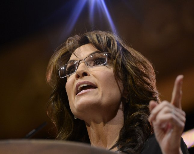Sarah Palin delivers remarks during the 2014 Conservative Political Action Conference (CPAC), on March 8, 2014 in National Harbor, Maryland. UPI/Molly Riley