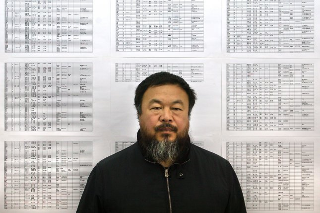 Chinese dissident artist Ai Weiwei was declined a bulk order of plastic bricks from Danish company Lego, and has since established Lego collection points in different cities for a new project. File Photo by Stephen Shaver/UPI