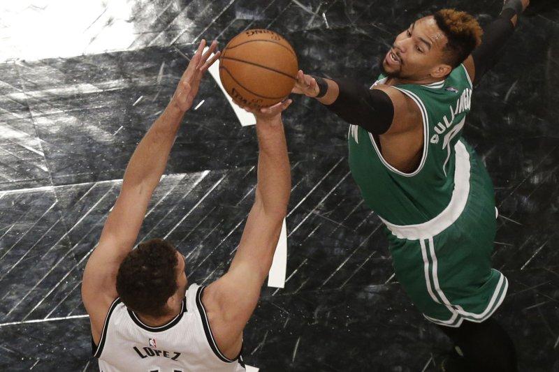 Former Boston Celtics forward Jared Sullinger. Photo by John Angelillo/UPI