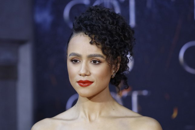 Nathalie Emmanuel plays Missandei of Naath on Game of Thrones. File Photo by John Angelillo/UPI