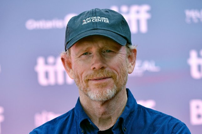Ron Howard directed Rebuilding Paradise, a documentary about the 2018 Camp Fire and Paradise, Calif., community's rebuilding attempts. File Photo by Chris Chew/UPI