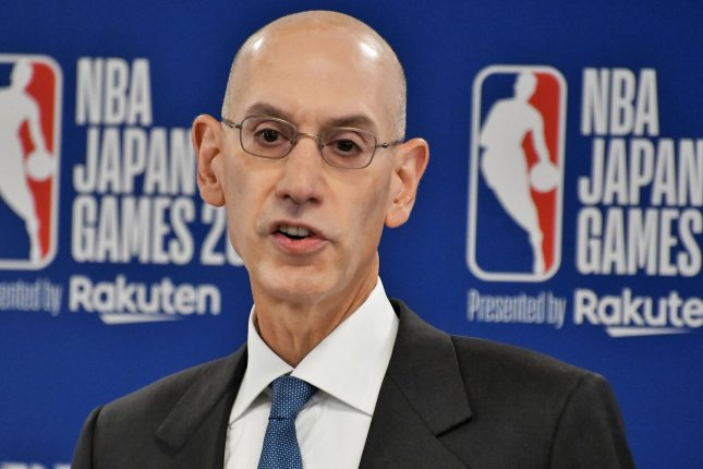 NBA commissioner Adam Silver said he believes having the 2021 NBA All-Star Game this year in Atlanta is the right thing to do, despite critics who say the league should cancel the event. File Photo by Keizo Mori/UPI