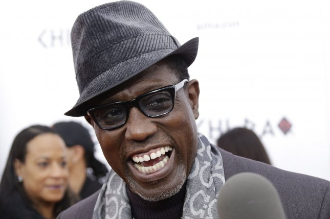 Wesley Snipes arrives on the red carpet at the CHI-RAQ New York premiere on December 1, 2015. Snipes has now signed a multi-picture deal with WWE Studios. File Photo by John Angelillo/UPI