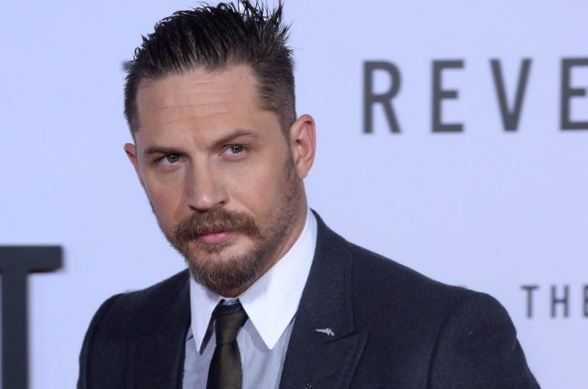 Tom Hardy has posted a number of photos of himself as Al Capone from upcoming film Fonzo. File Photo by Jim Ruymen/UPI
