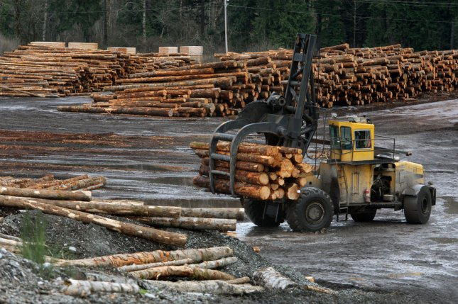 Scientists warn that an increase in the use of wood biofuel in Europe could result in increased deforestation around the world. Photo by UPI/Jim Bryant