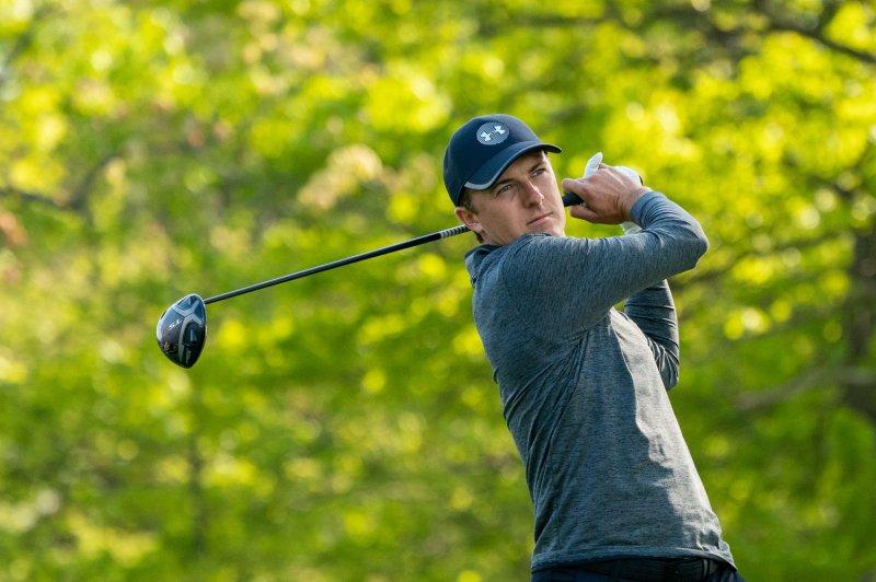 Jordan Spieth is a three-time major champion. Photo by Corey Sipkin/UPI