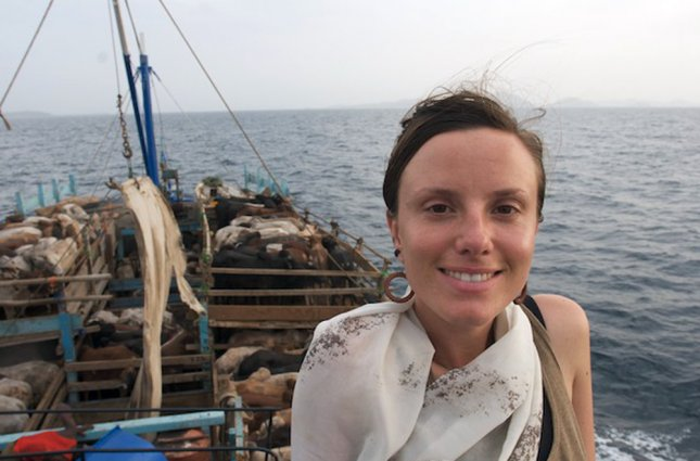 31 year old Sarah Shourd, seen in an undated handout image from her family, has been detained along with Josh Fattal, 27, and Shane Bauer, 27, since July 31, 2009 after they crossed into Iran by accident while hiking in a scenic area in northern Iraq. UPI/Courtesy of the Shourd, Bauer and Fattal Families
