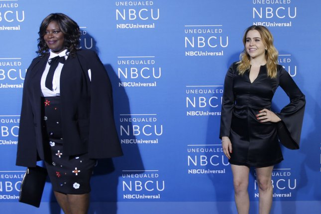 Retta and Mae Whitman will soon be seen in NBC's Good Girls. File Photo by John Angelillo/UPI