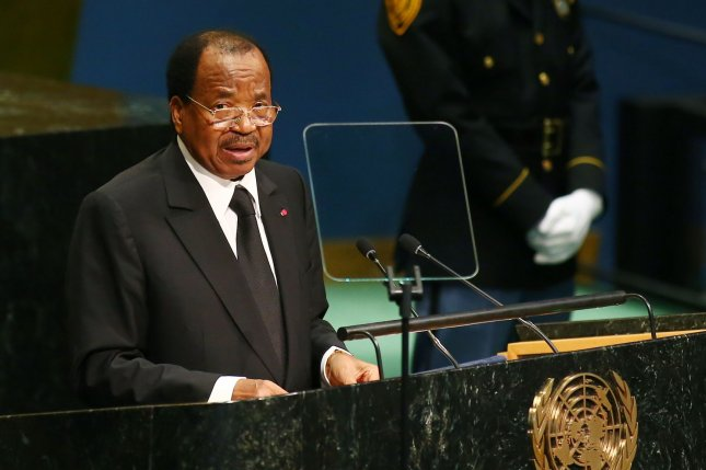 The abduction of the students comes with an increase in tensions in the largely French-speaking country, sparked by the re-election on Oct. 7 of President Paul Biya. File Photo by Monika Graff/UPI