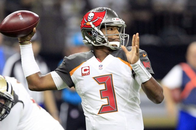 Quarterback Jameis Winston will remain an important part of the Tampa Bay Buccaneers' plans, according to the team's general manager. Photo by AJ Sisco/UPI