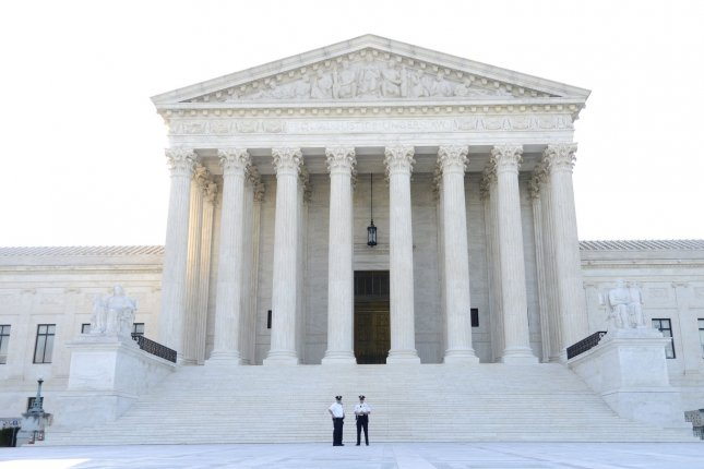 The high court will hear its first cases of 2020 on Monday. File Photo by Mike Theiler/UPI