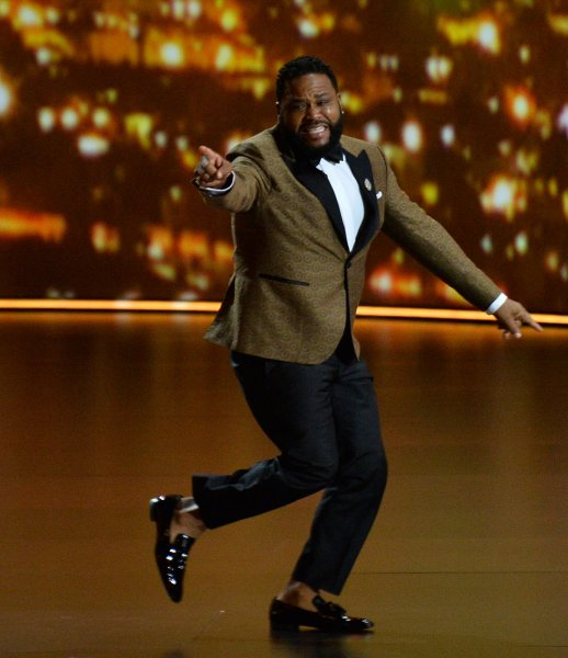 Anthony Anderson is guest hosting Jimmy Kimmel Live! on Monday and Tuesday. File Photo by Jim Ruymen/UPI