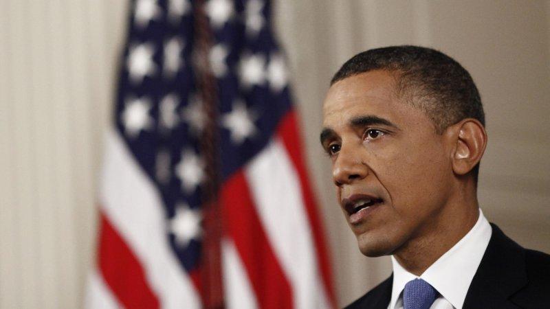 President Barack Obama speaks in the East Room of the White House in Washington,DC on June 28, 2012, after the Supreme Court ruled on his health care legislation. UPI/Luke Sharrett/pool