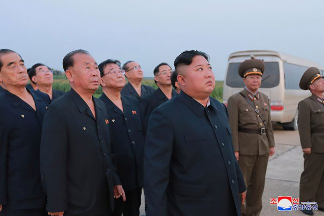 North Korean leader Kim Jong Un offered his sympathy following the death of Dmitry Yazov, former marshal of the Soviet Union, according to Pyongyang's state media. File Photo by KCNA/UPI