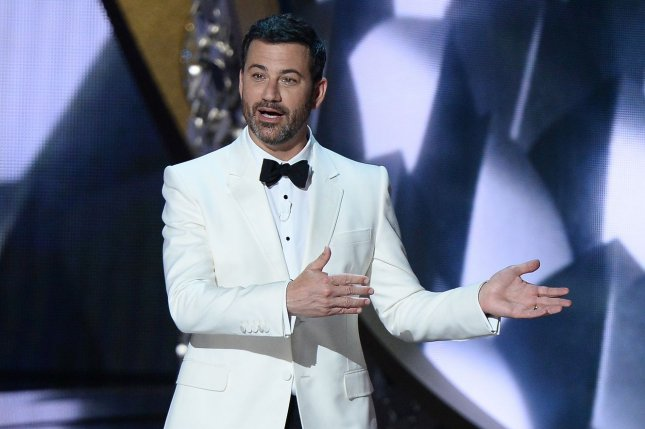 ABC Entertainment and the Television Academy announced Jimmy Kimmel will host the 72nd Emmy Awards, scheduled to air Sept. 20, 2020. File Photo by Jim Ruymen/UPI