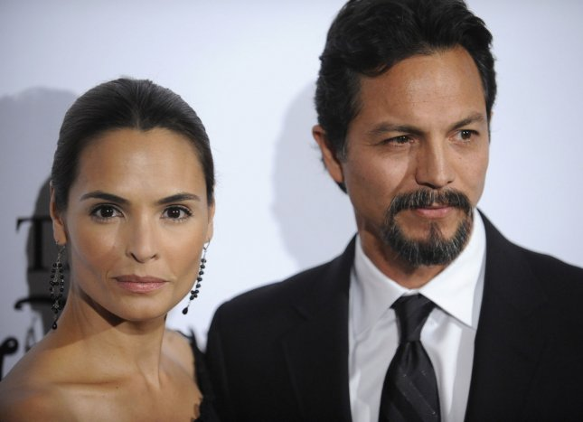 Benjamin Bratt and wife Talisa Soto attend the 24th Annual Imagen Awards in Los Angeles on August 21, 2009. UPI/ Phil McCarten