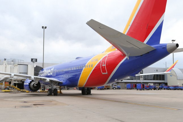 Boeing said two-thirds of its customers that use 737 Max aircraft have tested the software fix. Photo by Bill Greenblatt/UPI