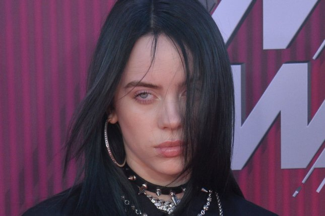Singer-songwriter Billie Eilish's When We All Fall Asleep, Where Do We Go? is No. 1 on this week's Billboard 200 chart. File Photo by Jim Ruymen/UPI