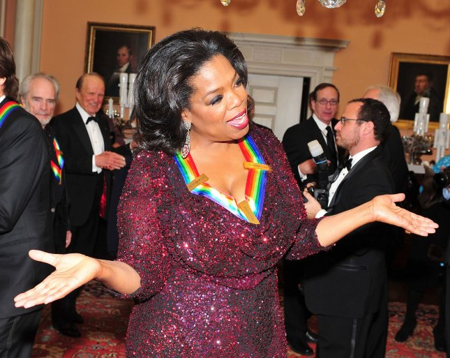 Winfrey at the Kennedy Center Honors. UPI/Ron Sachs/Pool