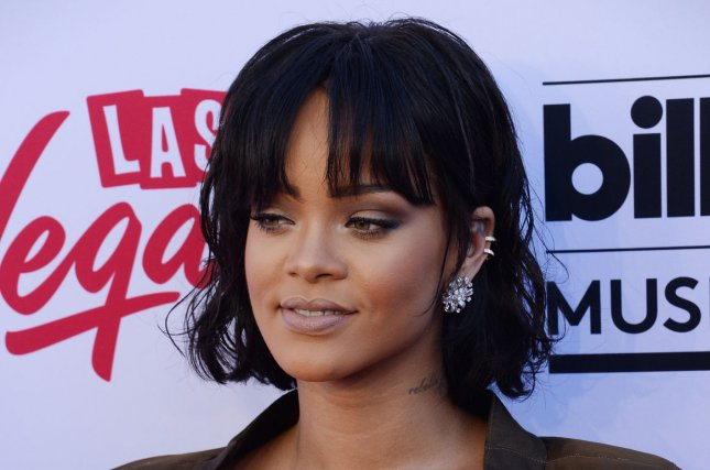 Singer Rihanna attends the annual Billboard Music Awards held at T-Mobile Arena in Las Vegas, Nev., on May 22, 2016. MTV announced that Rihanna will be given the Michael Jackson Video Vanguard Award at the 2016 MTV Video Music Awards. She will also perform at the awards ceremony in New York City on August 28. Photo by Jim Ruymen/UPI