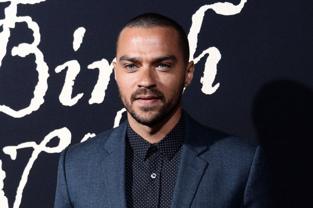 Jesse Williams attends the Los Angeles premiere of The Birth of a Nation on September 21, 2016. The actor filed for divorce from wife Aryn Drake-Lee on April 11. File Photo by Jim Ruymen/UPI