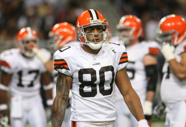 Former NFL tight end Kellen Winslow II is facing a number of felony charges. File photo by Bill Greenblatt/UPI
